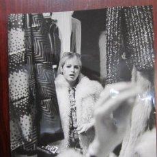 Cine: NATHALIE DELON - FOTO ORIGINAL B/N PRENSA - AÑOS 70' - FRENCH ACTRESS. Lote 289869618