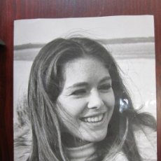 Cine: PASCALE RIVAULT - FOTO ORIGINAL B/N - FRENCH ACTRESS. Lote 289876113