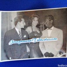 Cine: ACTRIZ CON ACTOR BLANCO DISFRAZADO DE NEGRO (MUY ORIGINAL) AÑO 1959. Lote 292579433