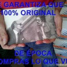 Cine: PANCHO BAUTISTA ALFREDO MAYO FOTOGRAFIA RODAJE LA ESPUELA CASINO LABRADORES E51. Lote 295488848