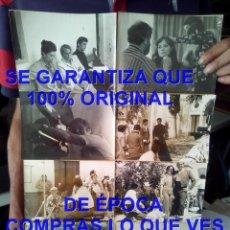 Cine: RODAJE LA ESPUELA PANCHO BAUTISTA FOTOGRAFIAS PACA GABALDON CLAUDIA GRAVI PILAR MUÑOZ 1976 C5. Lote 295493623