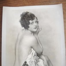 Cine: SILENT MOVIES ACTRESS - FOTO ORIGINAL B/N - CONFESSIONS OF AN ENGLISH MAID BOOK COVER. Lote 295828743
