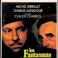 Cine: LOS FANTASMAS DEL CHAPELIER - GUIA DE LA PELICULA. Lote 991609
