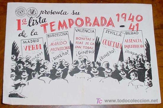 ANTIGUA 1ª LISTA DE LA TEMPORADA 1940 - 1941 DE HERCULES FILMS Y RAZA FILMS - CON PELICULAS VERDI - (Cine - Guías Publicitarias de Películas )