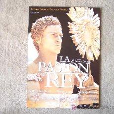 Cine: GUIA DE LA PELICULA LA PASION DEL REY. Lote 25146917