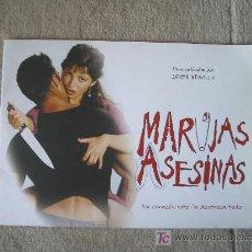 Cine: GUIA DE LA PELICULA MARUJAS ASESINAS. Lote 26001920