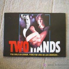 Cine: GUIA DE LA PELICULA TWO HANDS. Lote 23304165