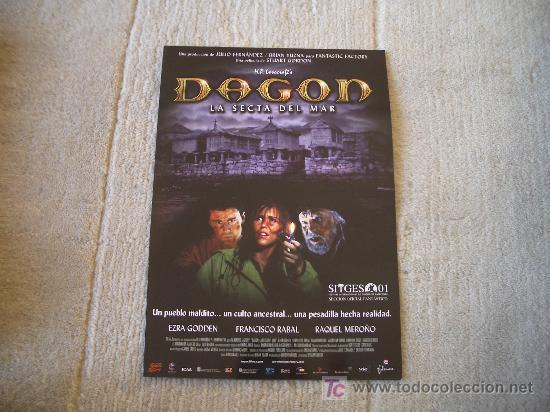 GUIA DE LA PELICULA DAGON (Cine - Guías Publicitarias de Películas )