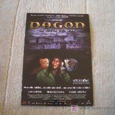 Cine: GUIA DE LA PELICULA DAGON. Lote 25939848