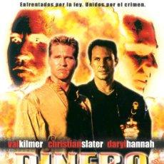 Cine: 'DINERO SUCIO', CON VAL KILMER Y CHRISTIAN SLATER.. Lote 18540975