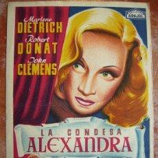 Cine: LA CONDESA ALEXANDRA, LLOAN 24X17. Lote 26954171