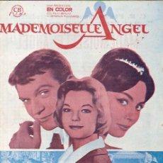 Cine: ROMY SCHNEIDER GUIA PUBLICITARIA DE LA PELICULA MADEMOISEILLE ANGEL. Lote 5297714