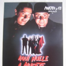 Cine: AQUI HUELE A MUERTO - MARTES Y TRECE - CINE ESPAÑOL - PAUL NASCHY. Lote 5768385