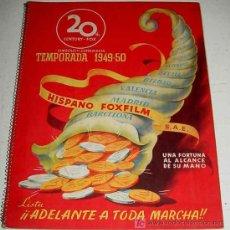 Cine: ANTIGUO CATALOGO 1949-50 DE LA 20 TH CENTURY FOX . YEAR BOOK - HISPANO FOXFILM S.A.E. CON LAS PELICU. Lote 26811645