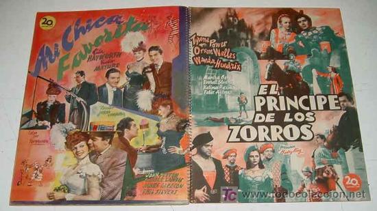 Cine: ANTIGUO CATALOGO 1949-50 DE LA 20 th CENTURY FOX . YEAR BOOK - HISPANO FOXFILM S.A.E. CON LAS PELICU - Foto 3 - 26811645