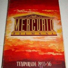 Cine: ANTIGUO CATALOGO DE LA TEMPORADA 1955 - 56 DE MERCURIO FILMS. S.A. YEAR BOOK - CON LAS PELICULAS DE. Lote 27136228