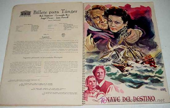 Cine: ANTIGUO CATALOGO DE LA TEMPORADA 1955 - 56 DE MERCURIO FILMS. S.A. YEAR BOOK - CON LAS PELICULAS DE - Foto 2 - 27136228