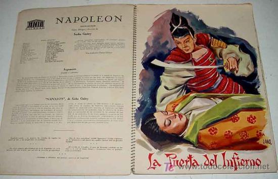 Cine: ANTIGUO CATALOGO DE LA TEMPORADA 1955 - 56 DE MERCURIO FILMS. S.A. YEAR BOOK - CON LAS PELICULAS DE - Foto 4 - 27136228