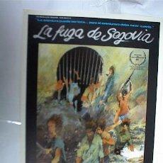Cine: LA FUGA DE SEGOVIA. Lote 7018658