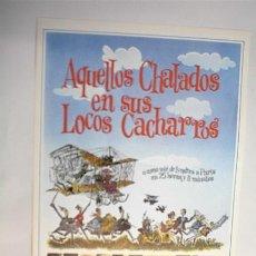 Cine: AQUELLOS CHALADOS EN SUS LOCOS CACHARROS. Lote 7098451