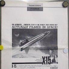 Cine: G0442 X-15 CHARLES BRONSON RICHARD DONNER GUIA ORIGINAL AMERICANA. Lote 7191934