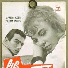 Cine: G0522 LOS INOCENTES JUAN ANTONIO BARDEM PALOMA VALDES GUIA ORIGINAL ESTRENO SUEVIA. Lote 7205207