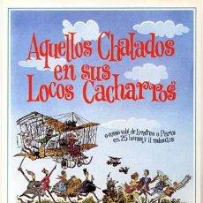 Cine: AQUELLOS CHALADOS EN SUS LOCOS CACHARROS GUIA PUBLICITARIA ORIGINAL STUART WHITMAN. Lote 11567597