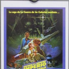 Cine: G0887 EL IMPERIO CONTRAATACA STAR WARS EMPIRE STRIKES BACK GUIA ORIGINAL INCINE ESTRENO. Lote 115277495