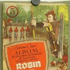 Cine: G5776D ROBIN DE LOS BOSQUES ERROL FLYNN ALBUM ORIGINAL DE CROMOS DE LA PELICULA COMPLETO. Lote 7957895