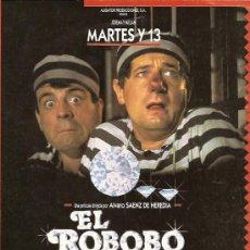 Cine: MARTES Y TRECE GUIA DEL FILM EL ROBOBO DE LA JOJOYA. Lote 8023585