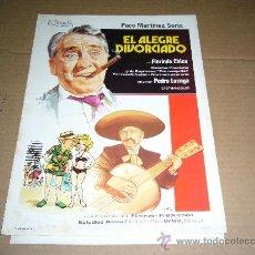 Cine: EL ALEGRE DIVORCIADO GUIA ORIGINAL JANO. Lote 8049499
