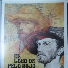 Cine: GUIA PUBLICITARIA - EL LOCO DE PELO ROJO LUST FOR LIFE VINCENT VAN GOGH KIRK DOUGLAS. Lote 8056084