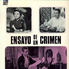Cine: ENSAYO DE UN CRIMEN, DE LUIS BUÑUEL. Lote 17007438