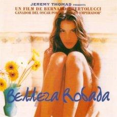 Cine: GUIA PUBLICITARIA SENCILLA ORIGINAL. BELLEZA ROBADA. JEREMY IRONS - LIV TYLER.. Lote 8698229