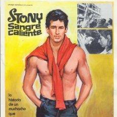 Cine: STONEY SANGRE CALIENTE, RICHARD GERE. Lote 8947128