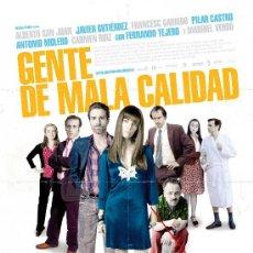 Cine: 'GENTE DE MALA CALIDAD', CON ALBERTO SAN JUAN Y MARIBEL VERDÚ.. Lote 267596869