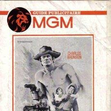 Cine: LE CALIFONIEN-CHARLES BRONSON, SUSAN OLIVER, KURT RUSSELL GUIA 6 PAG. Lote 9635613