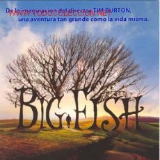 Cine: BIG FISH (2003) / GUIA PRESENTACION / 21 X 30 / ORIGINAL. Lote 7255703