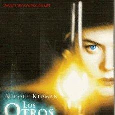 Cine: 'LOS OTROS', CON NICOLE KIDMAN.. Lote 21480661