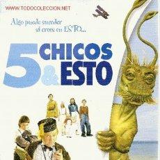 Cine: '5 CHICOS Y ESTO', CON KENNETH BRANAGH. 8 PÁGINAS.. Lote 15395228
