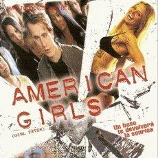 Cine: 'AMERICAN GIRLS'. 2 HOJAS.. Lote 5682969