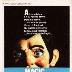 Cine: GUIA ORIGINAL SENCILLA, PAPEL, MAGIC, TERROR OFERTA. Lote 27203187