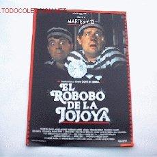 Cine: EL ROBO DE LA JOJOYA 10 GUIAS A ELEGIR 25 EUROS . 100 GUIAS 130 EUROS. Lote 37841188