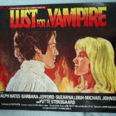 Cine: GUÍA FILM LUST FOR A VAMPIRE. Lote 13418907