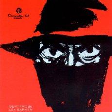 Cine: EL DIABOLICO DR. MABUSE (GUIA ORIGINAL) LEX BARKER - GERT FROBE. Lote 27370666