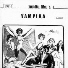 VAMPIRA (GUIA ORIGINAL DOBLE DE SU ESTRENO EN ESPAÑA) DAVID NIVEN