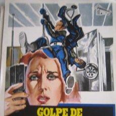 Cine: GUIA PUBLICITARIA - GOLPE DE MIL MILLONES DE DOLARES - RICHARD ROUNDTREE - MENAHEM GOLAN. Lote 10329364