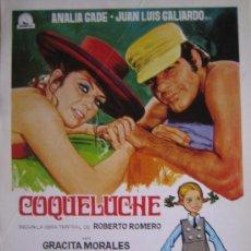 Cine: GUIA PUBLICITARIA - COQUELUCHE - ANALIA GADE GERMAN LORENTE. Lote 10329387