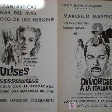 Cine: REY SORIA FILMS. 1ª LISTA DE MATERIAL 1966 - 67. Lote 19537963
