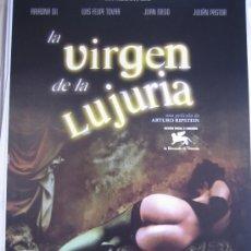 Cine: GUIA PUBLICITARIA - LA VIRGEN DE LA LUJURIA. Lote 10578923
